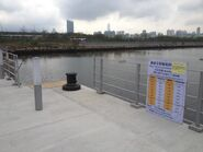 Boarding point for Kwun Tong to Cruise Terminal in Runway Park Pier