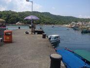 Tap Mun Pier speed boat boarding point