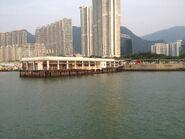 Tung Chung New Development Ferry Pier look
