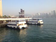 Two Hoi You Ferry in Tsim Sha Tsui Public Pier
