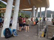 People wating for ferry in Wong Shek Ferry Pier 04-04-2015(2)