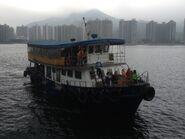 Ferry arrive Ma Liu Shui 20-03-2016