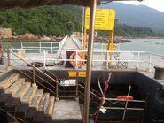 Sha Lo Wan Pier steps