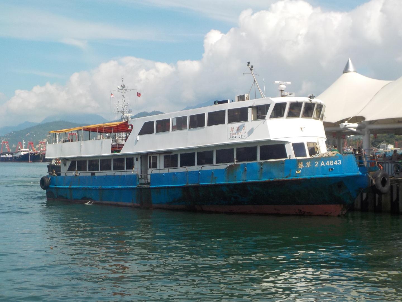 翠華船務長洲至香港仔航線