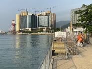 Near Tung Chung New Development Pier Landing step 05-06-2021