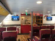 YU ZHU HU Kowloon to Guangzhou Nansha and Lianhuashan 1st class compartment 2 10-07-2019