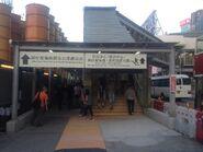 Wan Chai Ferry Pier corridor