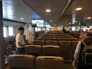YU ZHU HU Kowloon to Guangzhou Nansha and Lianhuashan compartment 1 10-07-2019