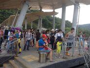 Wong Shek Pier passengers 2