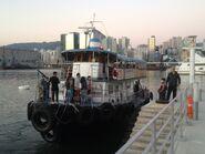 Kwun Tong to Cruise Terminal kaito service last day in Cruise Terminal