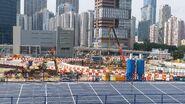 海泓道近興建中的中九龍幹線202005
