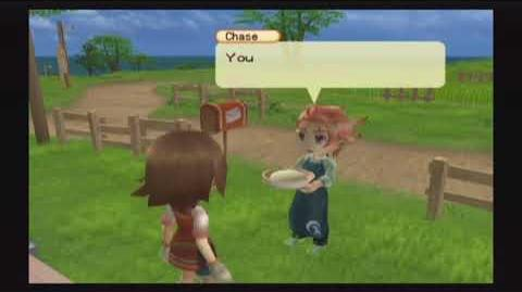 Harvest Moon Tree of Tranquility - Chase - 5 Heart Event