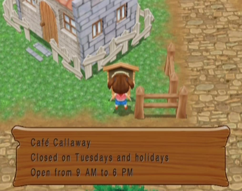 Cafe Callaway (MM)