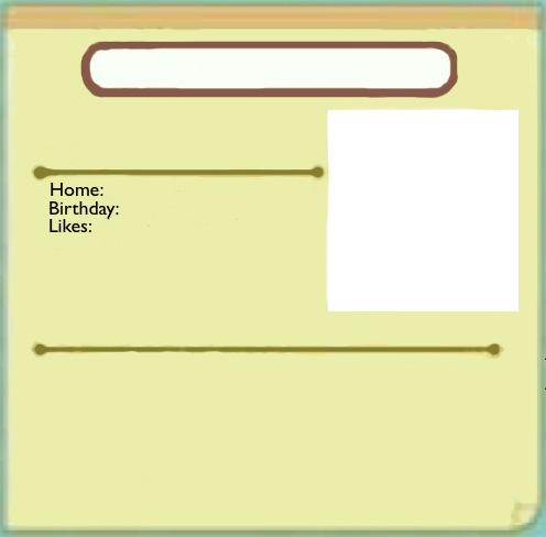 Profile sheet (ToT)
