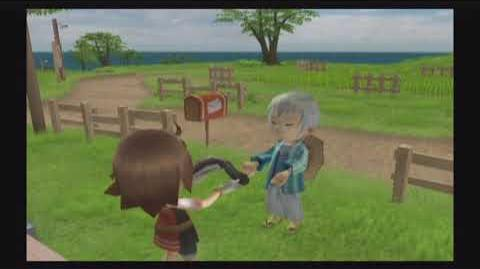 Harvest Moon Tree of Tranquility - Toby - 5 Heart Event