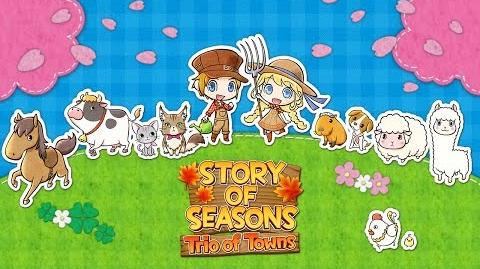 STORY OF SEASONS Trio of Towns - Launch Trailer