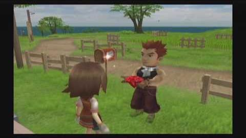 Harvest Moon Tree of Tranquility - Owen - 5 Heart Event