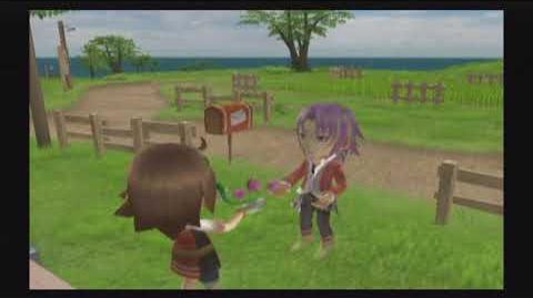 Harvest Moon Tree of Tranquility - Julius - 2 Heart Event