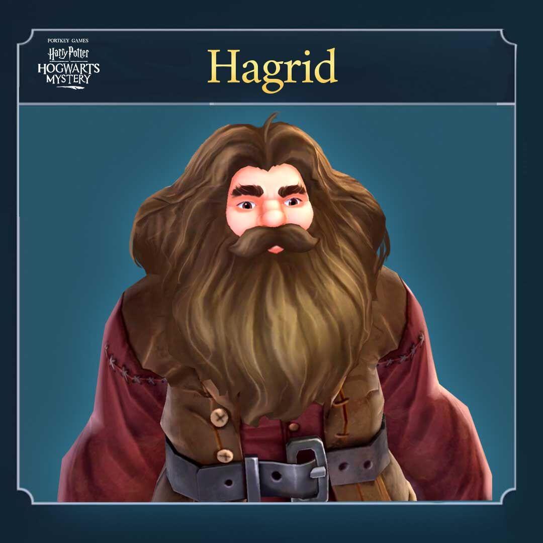 Rubeus Hagrid Hogwarts Mystery Wiki Fandom