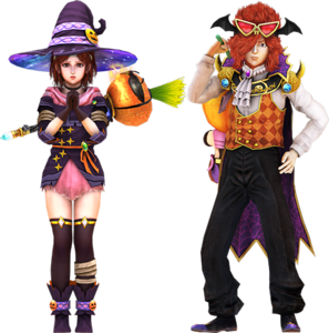 Legends ReVIVE Apocalyptic Halloween Outfits - Bat and Rin