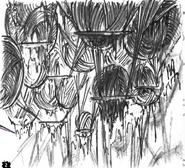Distant Village Sketch