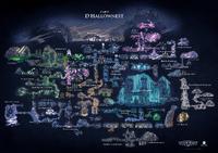 Carte d'Hallownest (Français)