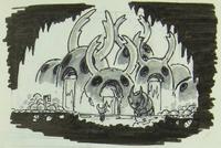 Hot Spring sketch