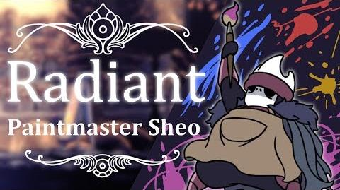 Paintmaster Sheo Radiant (Hitless) Hollow Knight
