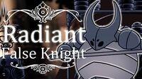 False Knight Radiant (Hitless) Hollow Knight