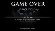 Steel Soul Game Over