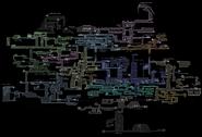 Карта з позначеннями