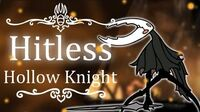 The Hollow Knight Hitless Hollow Knight