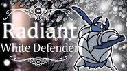 White Defender Radiant (Hitless) Hollow Knight