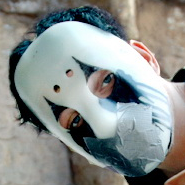 Johnny 3 Tears very first mask