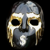 J-Dog V mask gold