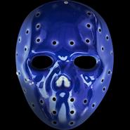 Funny Man V mask blue