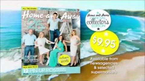 Home and Away Official Collector's Edition Advertisment
