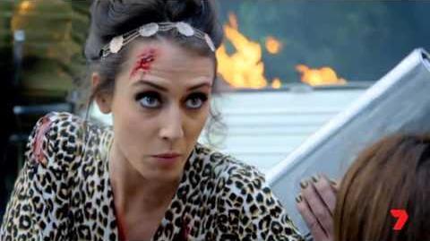 Disaster Strikes Summer Bay - Who Shot Charlotte?