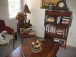 My favorite corner. Mini library.