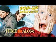 HOME ALONE - Pop-Up Movie Facts (1990) Macauley Culkin, John Hughes Christmas Comedy