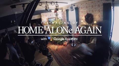 The Making of Home Alone Again with the Google Assistant