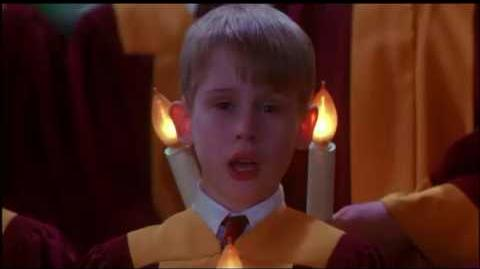 Home alone 2 Lost in New York Stage scene