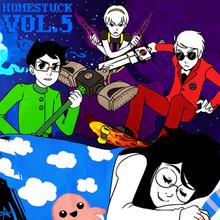 Homestuck Vol 5 Album cover-1-.png