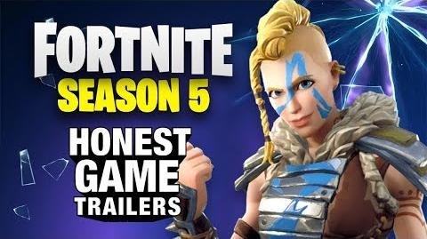 How Long Do Gravity Crystals Last Fortnite Honest Game Trailers Fortnite Season 5 Honest Trailers Wikia Fandom