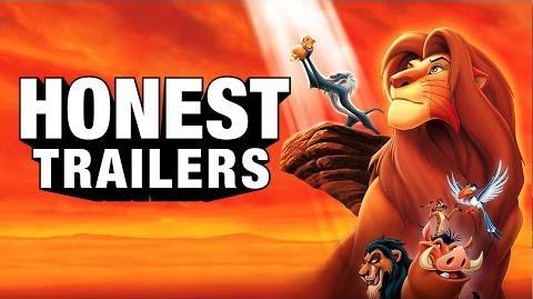 Honest Trailer - The Lion King