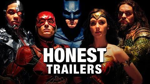Honest Trailer - Justice League