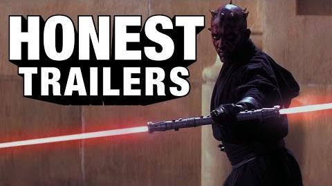 Honest Trailer - Phantom Menace 3D