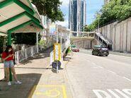 Ap Lei Chau Drive bus stop 09-08-2020