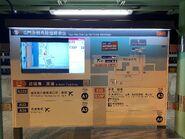 Tuen Mun to Chek Lap Kok Tunnel Interchange screen and information 13-01-2021