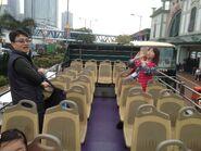 Rickshaw Sightseeing Bus Upper Deck